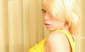Nubiles Elisa 19 Year Old Blonde Amateur In Yellow Tight Panty Girl First Ever Naughty Photo Shoots Indoor