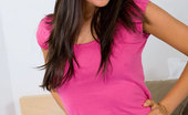 Nubiles Bella Horny Nubile Teen Bella Takes Off Her Pink Tops And Posing Seductively