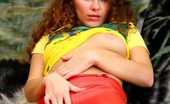 Nubiles Ditty Lovely Teen Amateur Gently Pulls Down Her Sexy Red Pants To Reveal Her Tempting Assets