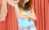 Nubiles Virgina 244972 Hot Nubile Virgina Reveals Her Teen Assets On The Bed