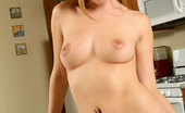 Nubiles Leigh 245073 Delightful Teen With Handful Boobs Fiercely Rides A Suction Cup Dildo On Top Of Kitchen Sink