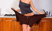 Nubiles Nicky Delectable Hot Chick In Sexy Brown Skirt Showing Her Ass Curve Alluringly