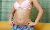 Nubiles Dora Naughty Nubile Dora Wearing Bra And Jeans Shows Off Her Body With A Great Curves