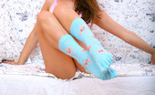 Nubiles Kayla Lovely Pretty Teen Posing Very Sexy On The Couch And Teasing Goodly
