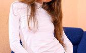 Nubiles Nastya Lovely Nastya In Jeans Exposing Nice Fitted Panty And Posing Cute