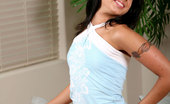 Nubiles Marina Naughty Teen Marina Spreading Her Legs Wide Open And Slides Off Her Sleeveless