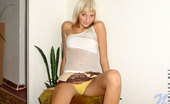Nubiles Denisa Charming Nubiles Teen Spreading Her Legs And Display Undies On Couch