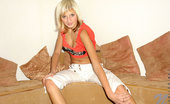 Nubiles Denisa Cute Denisa So Gorgeous Teasing Hot On Couch To Shows Her Kindeness On You