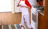 Nubiles Felicity Felicity Wearing Baseball Clothes She'S Hot And Naked On Kitchen