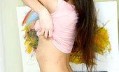 Nubiles Anastasia Dildo Lover Anasatasia Slowly Sliding Off Her Tops And Showing Her Sexy Body