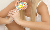 Nubiles Fawn Cuddling Teen Sweetheart Having A Great Time Licking On Lollipop
