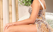 Nubiles Missy Alluring Brunette Showing Her Legs With A Nice Such Feelings