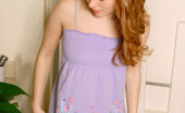 Nubiles Alana Curly Haired Alana Slowly Stripping Off Her Panty Inside Her Bathroom