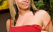 Nubiles Kylie Seductive Big Tits Kylie Naughtily Pulls Up Her Sexy Red Tops