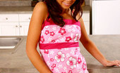 Nubiles Paulina Beautiful Nubile In Floral Tops Tease And Smiles With Charms