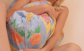 Nubiles Joanne Hot Firm Babe Gently Fondling Her Cute Nipples Trying To Arouse Herself