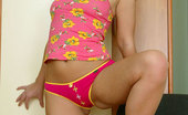 Nubiles Jhenya Shy Teen In Pink Panties Flaunting Her Nice Ass And Boobs