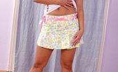 Nubiles Vendula Vendula Slowly Revealing Her Fabulous Ass And Nice Sheer Thongs Indoors