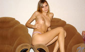 Nubiles Katrina Wonderful Free Photos Of This Top Nubile Babe Shows Off On Antique Chair