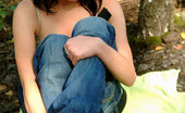 Nubiles Kristen Kristen Peels Down Her Jeans And Wants To Be Full Naked To Feel One With Nature