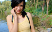 Nubiles Holly Innocent Looking Teen Enjoys Nature Tripping Watch Her Nipples Showing Off
