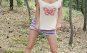Nubiles Milana Milana Bares Off Her Juicy Tits As She Takes Off Her Red Blouse