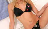 Nubiles Lera Lera In Black Panties In Her Bathtub Showing Her Nice Firm Body And Poses For The Cam