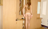 Nubiles Katrina Lovely Katrina All Naked Polishing Her Tasty Petite Body Indoors