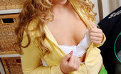 Nubiles Cristal Cristal Has Long Curly Hair And Nipples That Nice And Hard Watch Her Spread Her Legs