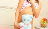 Nubiles Tapenga Tapenga Playing Sexily With Her Teddy In Bed