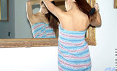 Nubiles Malvina Tight Teen Teasing In Reality Picset In Front Of Mirror