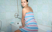 Nubiles Malvina Cute Malvina On Bathroom Covers Hot Tits With Towel