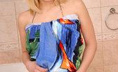 Nubiles Andi Wow Andi In Bathroom Looks Fucking Great In Shiny Bikini