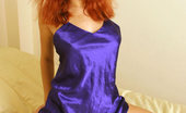 Nubiles Dasha 251023 Dasha Is In A Blue Silky Lingerie Thingy And Her Boobs Are About To Bust Outta There
