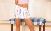 Nubiles Mili Mili Pulls Her Thong Panties So Tight She Gets A Cameltoe Check It Out