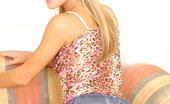 Nubiles Carrie Damn Carrie Has On Some Seriously Tight Shorts All Wrapped Around Her Tight Teen Ass Cheeks