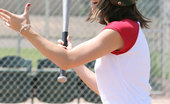 Nubiles Kayden 251461 Wow This Girl Loves To Flash The Crow While Shes Playing Baseball And Pop Her Ass Out