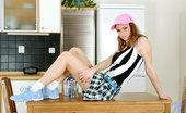 Nubiles Ally Mmm Cute Teen Ally Drinks Her Milk Like The Good Girl That She Is Making Stong Bones