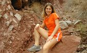 Nubiles Lindsay Cute Teen Hiker Shows Off Her Tiny Perky Tits