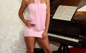 ALS Angels Cipriana04s Cipriana Plays The Piano In Her White Panties