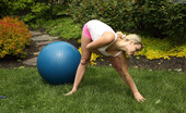 ALS Angels Miamalkova04s 255860 Flexible Mia Malkova Poses With Medicine Ball And Jump Rope
