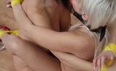 Damsels In Peril Rebekah Dee & Aleksandra Naked, Bound And Gagged