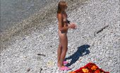 Beach Hunters Redheads Sunbathing A Redhead Sweetie And Her Gf Sunbathing Naked On A Hidden Cam Beach