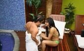 Bang A Midget Erika Vieira & Ronaldo Latina Erika Gets Midget Cock Up Her Ass