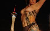 Michelle Aston Nude In Public On Streets Of Las Vegas