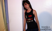 Manila Amateurs Maria C Petite Pinay Maria Stripping Out Of Her T-Shirt And Jeans