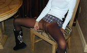 Jerkoff Instructors Schoolgirl RubDown Sexy Addison Shows You Her Pretty Pussy And Make You Promise To Jack Off And Rub Against It