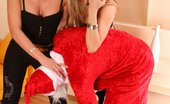 Under Feet 258451 Two Seductive Horny Girls Turn Santa Claus Into Submissive Helpless Slave