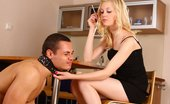 Under Feet Ashtray Boy Gets Dominated, Humiliated And Trampled By His Merciless Domme