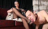 Under Feet Naughty Male Sub Treats His Mistress'S Feet Like The Biggest Treasure Ever